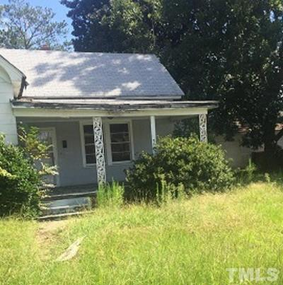 Harnett County Single Family Home For Sale: 101 S 12th Street South