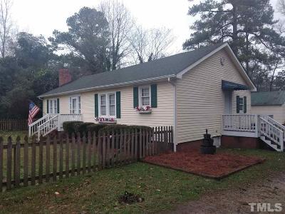 Lillington Single Family Home For Sale: 610 W Lofton Street