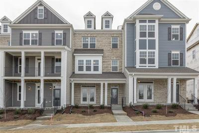 Apex Townhouse For Sale: 2907 Sunflower Road North #122-Bear