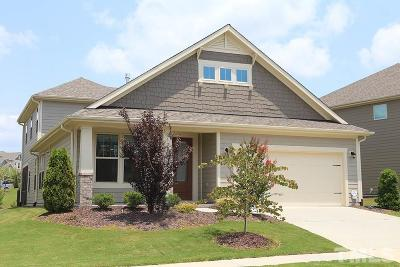 Durham Single Family Home For Sale: 1707 Capstone Drive