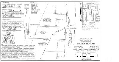 Wake County Residential Lots & Land For Sale: 724 S State Street