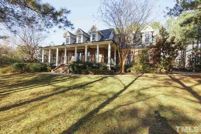 Wake County Single Family Home Contingent: 3816 Wyntree Pond Lane