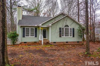 Clayton NC Single Family Home For Sale: $170,000