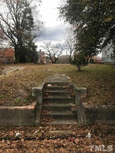 Durham County Residential Lots & Land For Sale: 1207 Linwood Avenue