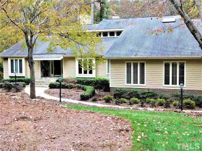 Raleigh Single Family Home For Sale: 1308 Bascomb Drive