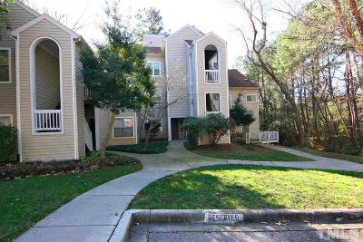 Raleigh Condo Contingent: 6121 Sunpointe Drive #102