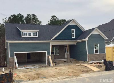 Fuquay Varina Single Family Home For Sale: 198 Rhoda Lilley Drive #Lot 48
