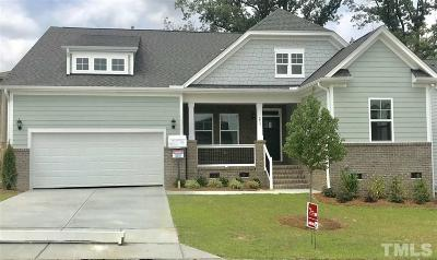Fuquay Varina Single Family Home For Sale: 253 Marley Way #Lot 95