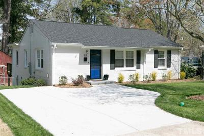 Wake County Single Family Home For Sale: 911 Mills Street