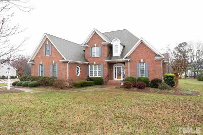 Zebulon Single Family Home For Sale: 2616 Stonewalk Court