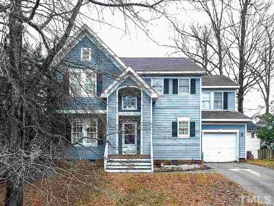 Cary Single Family Home Contingent: 212 Snow Camp Drive