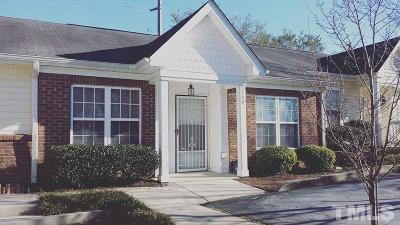 Raleigh Townhouse For Sale: 3754 Votive Lane