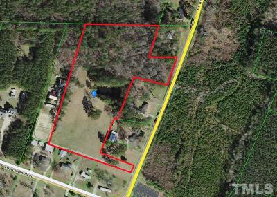 Johnston County Residential Lots & Land For Sale: 9777 Nc 96 Highway