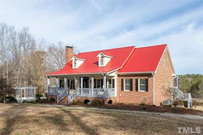 Smithfield Single Family Home For Sale: 6362 Nc 210 Highway
