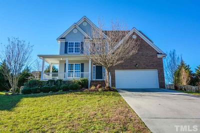 Rolesville Single Family Home Pending: 431 Shady Willow Lane