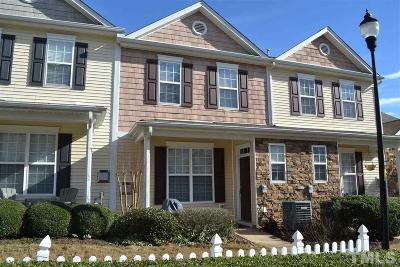 Raleigh Townhouse For Sale: 8215 Belneath Court