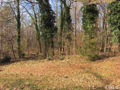 Chatham County Residential Lots & Land For Sale: Parkwood Drive
