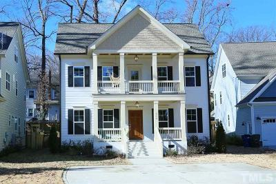Raleigh Single Family Home For Sale: 513 Phelps Avenue