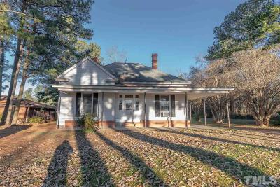 Kenly Single Family Home For Sale: 317 S Maple Avenue