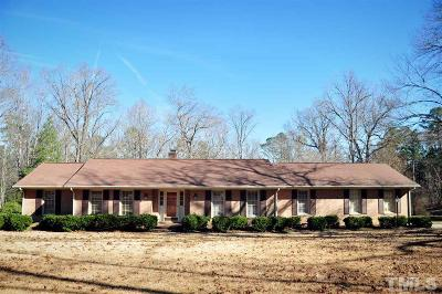 Sanford NC Single Family Home For Sale: $224,000