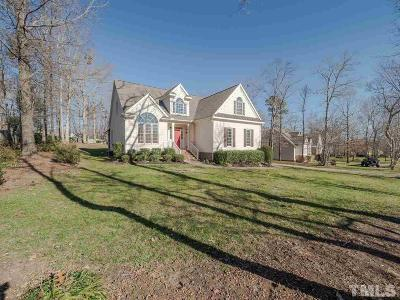 Youngsville Single Family Home Contingent: 150 Kensington Drive