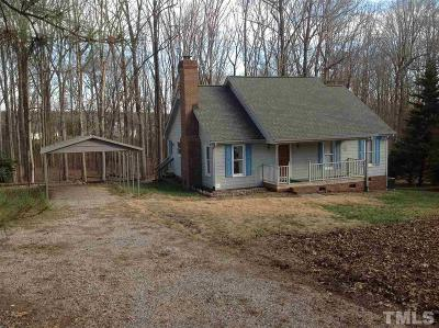 Youngsville Single Family Home Contingent: 1203 Hicks Road