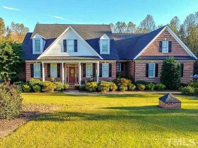 Fuquay Varina Single Family Home Contingent: 7917 Whimbrel Lane
