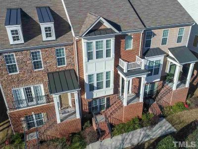 Cary Townhouse For Sale: 4027 Yellowfield Way