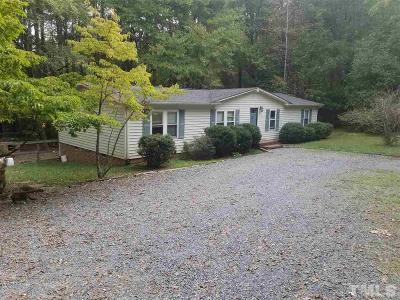 Pittsboro Rental For Rent: 1704 Nc 87 Highway