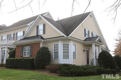 Wake Forest Townhouse Contingent: 1532 Heritage Club Avenue