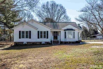 Raleigh Single Family Home Pending: 1009 Robinfield Drive