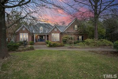 Raleigh Single Family Home For Sale: 8712 Bell Grove Way