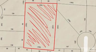 Wake County Residential Lots & Land For Sale: 255 W Cornwall Road