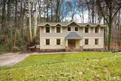 Raleigh Single Family Home For Sale: 3500 Rock Creek Drive