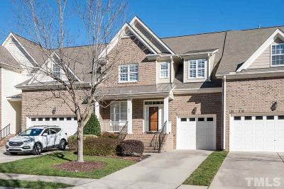 Wake Forest Townhouse For Sale: 637 Canvas Drive
