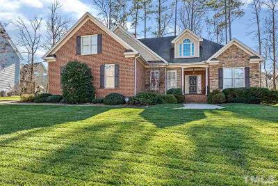 Raleigh Single Family Home Contingent: 7913 Pine Timber Drive