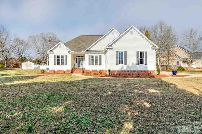 Fuquay Varina Single Family Home For Sale: 3601 Praed Place