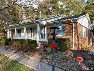Durham Single Family Home Contingent: 6419 Amhurst Road