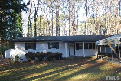Garner Single Family Home For Sale: 1510 Axum Road
