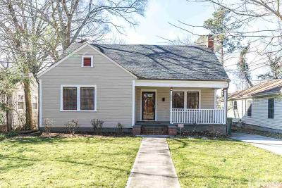Durham Single Family Home For Sale: 1004 Arnette Avenue