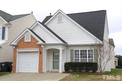 Morrisville Rental For Rent: 100 Caraleigh Court