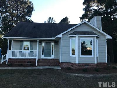 Dunn NC Single Family Home For Sale: $149,900