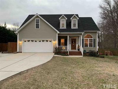 Fuquay Varina Single Family Home For Sale: 39 Oak Bluff Court