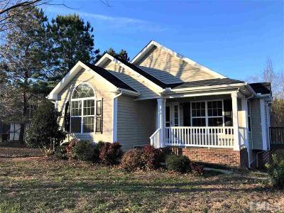 Franklinton Single Family Home Pending: 65 Millridge Drive