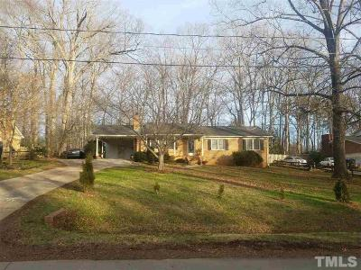 Durham Single Family Home For Sale: 6246 Dello Street