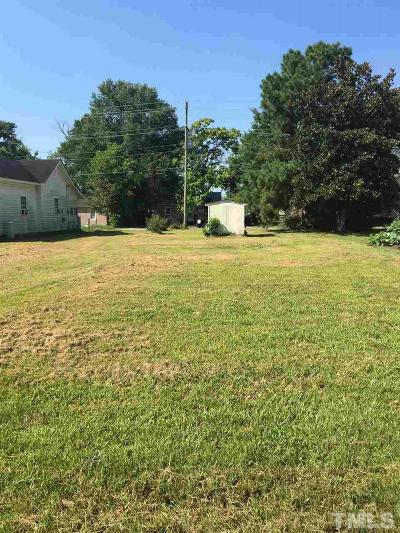 Johnston County Residential Lots & Land For Sale: 405 E Waddell Street