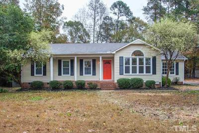 Garner Single Family Home Contingent: 418 Jera Drive
