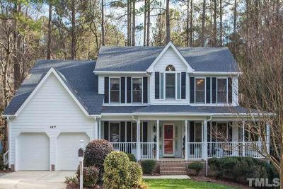 Raleigh Single Family Home Contingent: 4617 Shoalcreek Place