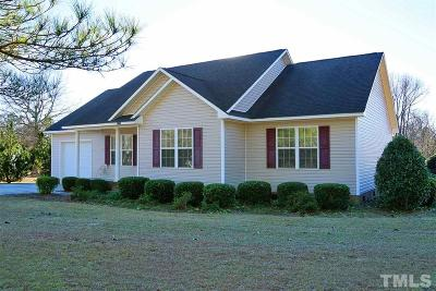 Angier Single Family Home For Sale: 3525 Johnston County Road