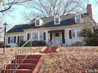 Durham Single Family Home Contingent: 1314 N Gregson Street